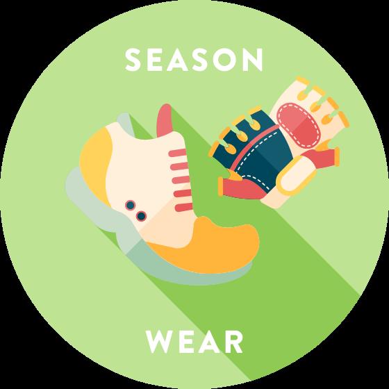 泉州サイクリングに適した季節・服装